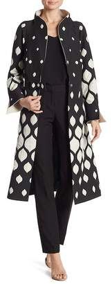 Iren Klairie Polka Dot Print Coat (Regular & Plus)