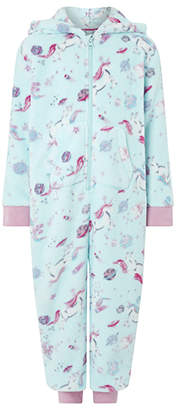 Monsoon Veronica Unicorn Chunky Sleepsuit