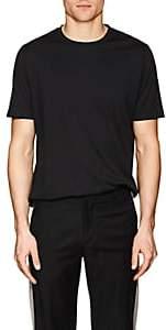 S.MORITZ Men's Cotton Jersey T-Shirt-Black