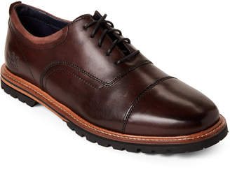 Cole Haan Dark Coffee Raymond Grand Leather Oxfords