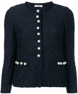 Charlott pearl buttons tweed jacket