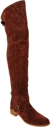 Charles David Gianna Suede Over The Knee Boot