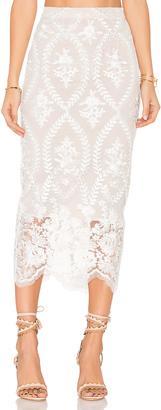 STONE COLD FOX Brinkley Skirt $250 thestylecure.com