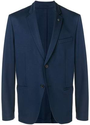 Michael Kors slim-fit Ponte blazer
