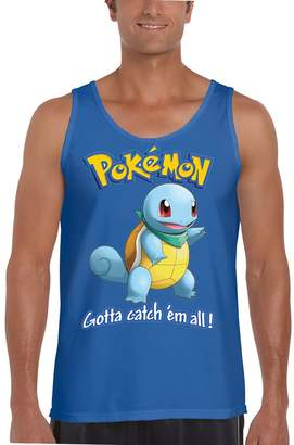Pokemon NineTeen Go Squirtle Mens Fashion Tank Top