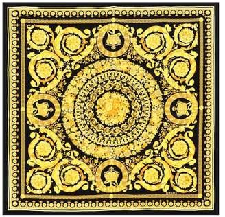 Versace Baroque SS92 printed silk scarf