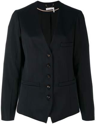 Chloé collarless blazer
