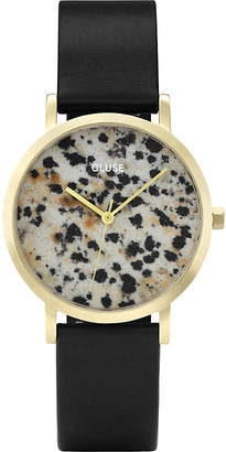 Cluse CL40105 La Roche Petite gold and dalmatian stone watch