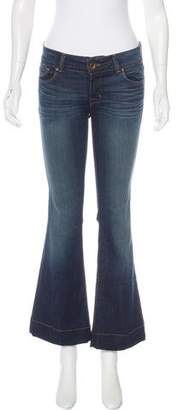 J Brand Flared Love Story Jeans