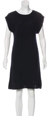 Malo Wool-Blend Knit Dress
