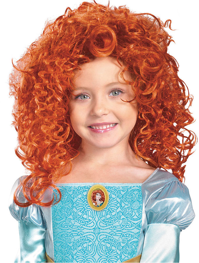 Disguise Wig, Girls Merida Wig