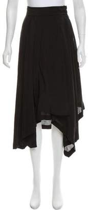 Loewe Asymmetrical Midi Skirt w/ Tags