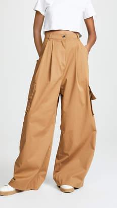 Natasha Zinko Wide Leg Cargo Trousers