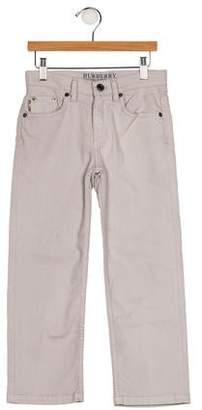 Burberry Girls' Five Pockets Straight-Leg Jeans