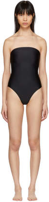 Maryam Nassir Zadeh Black 1831 Plaza Strapless Swimsuit
