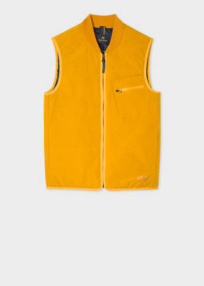 Paul Smith Men's Gold Quilted 2-In-1 Gilet Liner