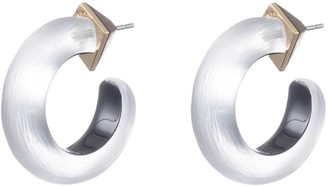Alexis Bittar Small Thin Hoop Earring