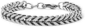 Balenciaga Silver-Tone Chain Bracelet