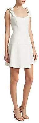Cinq à Sept Women's Jeanette Tie Shoulder Flare Dress