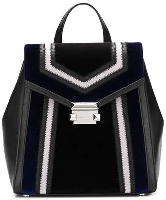 MICHAEL Michael Kors Whitney geometric pattern backpack