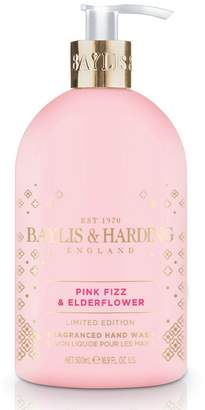 Baylis & Harding Pink Fizz & Elderflower Hand Wash - Limited Edition 500ml - Nude