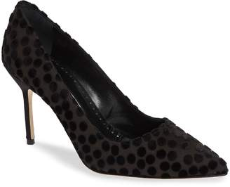 Manolo Blahnik (マノロ ブラニク) - Manolo Blahnik BB Dots Pointy Toe Pump