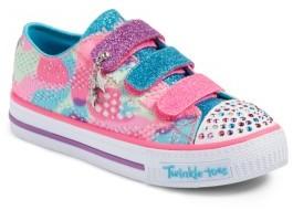 Girl's Skechers Twinkle Toes Shuffles Light-Up Sneaker $46.95 thestylecure.com