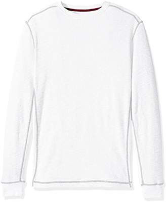 True Grit Men's Softest Cotton Slub Waffle Thermal Long Sleeve Shirts