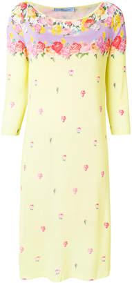 Blumarine floral print dress