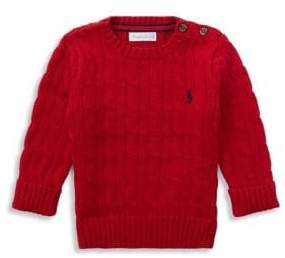 Ralph Lauren Baby Girl's Cable-Knit Sweater