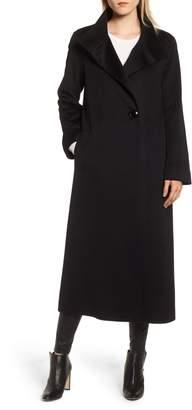 Fleurette Long Loro Piana Wool Coat