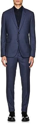 Paul Smith Men's Kensington Gingham Wool Two-Button Suit