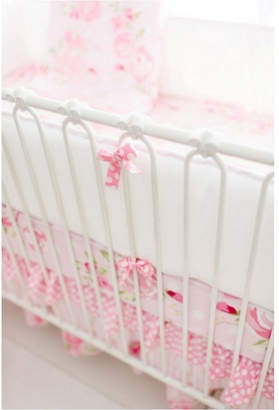 My Baby Sam Rosebud Lane Crib Bumper