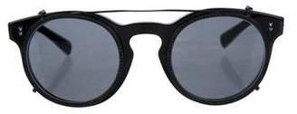 Valentino Rockstud Round Eyeglasses