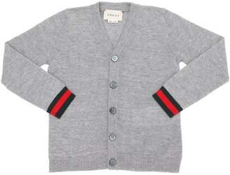 Gucci Extra Fine Merino Wool Cardigan