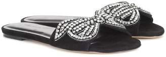 Isabel Marant Jelson embellished suede sandals