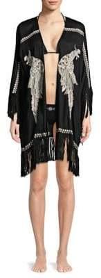 OndadeMar Fringe Kimono