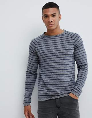 Jack and Jones Lightweight Knitted Stripe Sweater