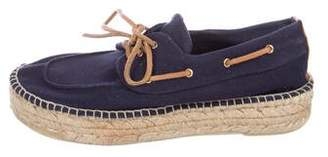 Tory Burch Espadrille Boat Shoes