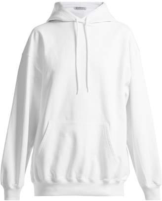Balenciaga Cotton hooded sweatshirt