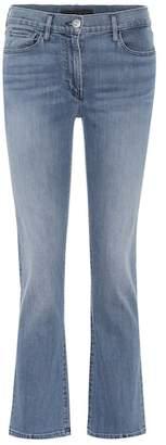 3x1 W25 cropped bootcut jeans