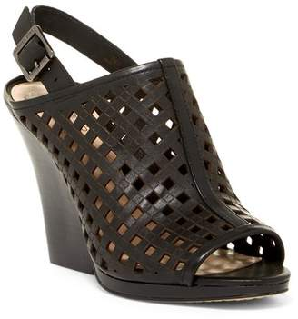 Vince Camuto Janay Diamond Perforated Slingback Sandal