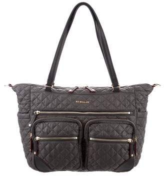 MZ Wallace Quilted Nylon Diaper Bag
