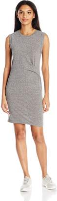 Bench Women's Draped Knot Jersey Dress