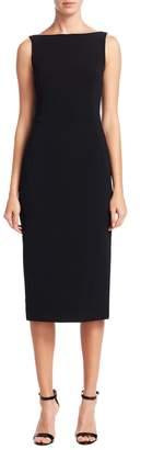 Dolce & Gabbana Women's Fitted Boatneck Dress