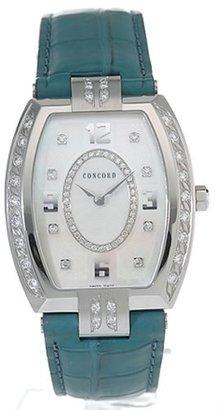 Concord コンコードLa Scala Tonneau Women 's Quartz Watch 0310941