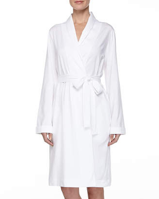 Hanro Cotton Jersey Short Robe