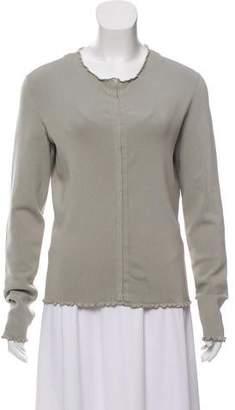 Gucci Silk-Blend Long Sleeve Cardigan