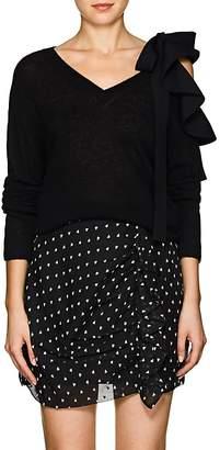Valentino Women's Wool-Cashmere Tieneck Sweater