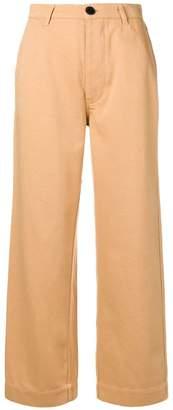 Bellerose high-waist flared trousers